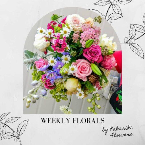 Kakariki Flowers Weekly Subscription