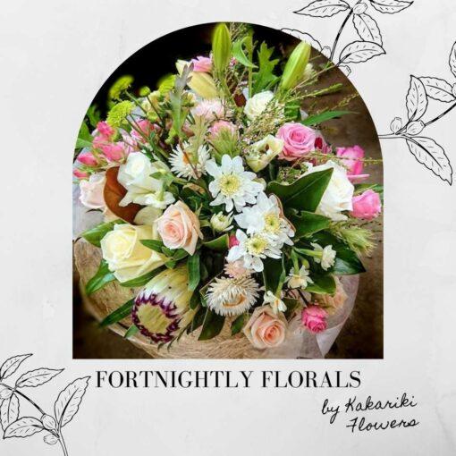 Kakariki Flowers Fortnightly Floral Subscription